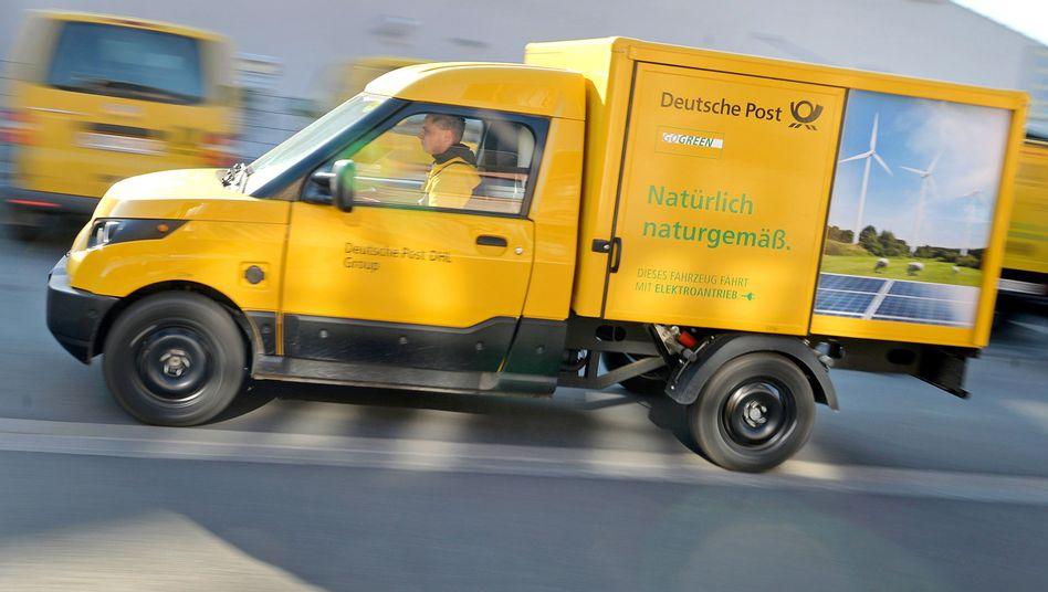 Streetscooter der Deutschen Post: Der Elektro-Lkw sorgt für hohe Verluste