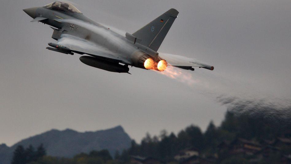 Kampfjet Eurofighter: BAE hofft auf einen Großauftrag aus Saudi-Arabien