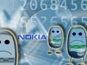 Der weltweite Handy-Absatz wird nach Expertenschätzungen zurückgehen. Dies dürfte auch Nokia zu spüren bekommen.