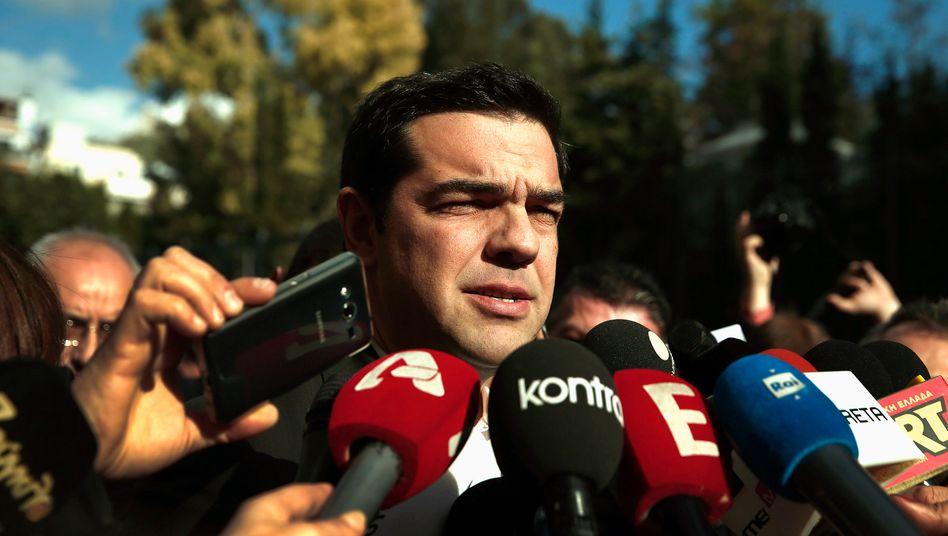 """Hobby-Ökonom Alexis Tsipras: """"Die Finanzmärkte werden nach unserer Pfeife tanzen"""""""