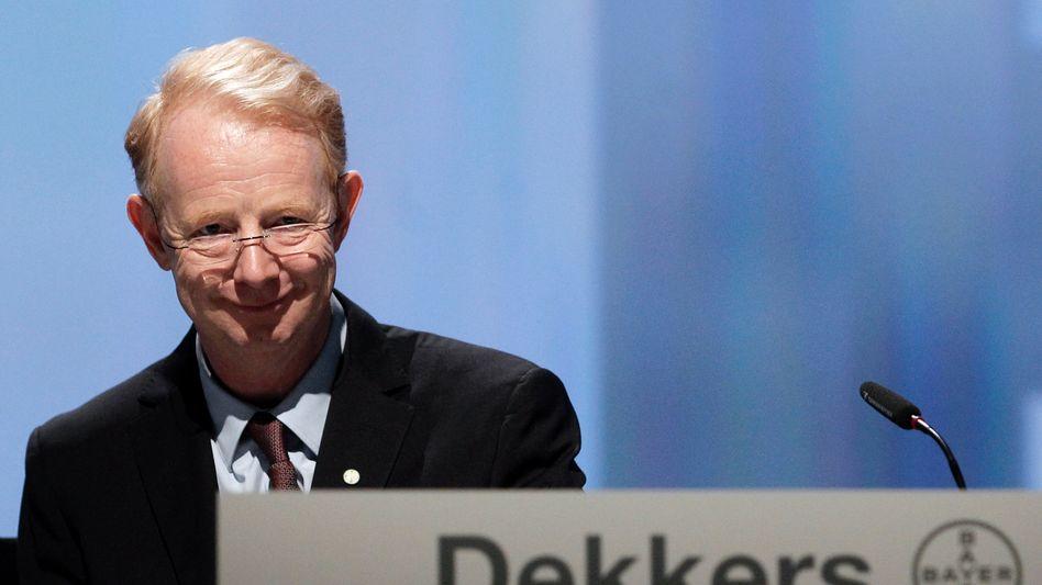 Marijn Dekkers: Der Bayer-Chef verlängert seinen Vertrag lediglich um zwei Jahre