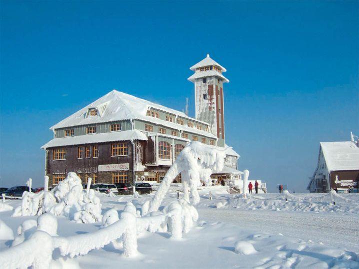 Hotel Fichtelberghaus: Das ist auf dem Gipfel des, man ahnt es schon, Fichtelberges
