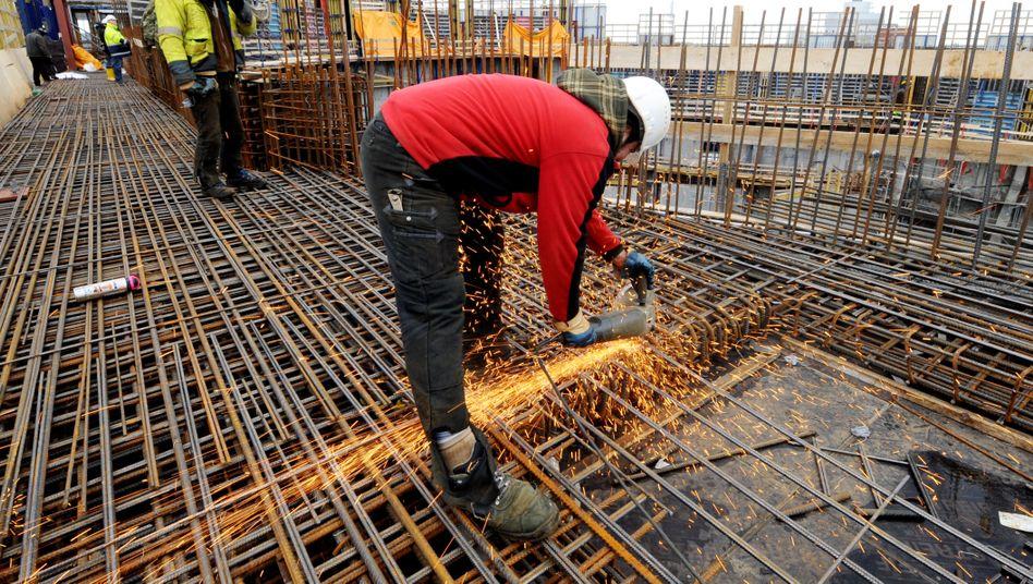 Widerstandsfähig: Auch die Bauwirtschaft darf weiter auf Aufträge hoffen