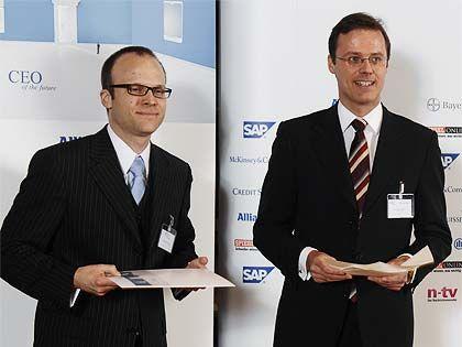 Matthias Kampshoff (33) eroberte den 5. Platz. Er ist bereits Anwalt und arbeitet in einer renommierten Wirtschaftskanzlei.