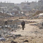 Trümmerwüste Gaza: Hamas und Israel haben Waffenruhe verkündet