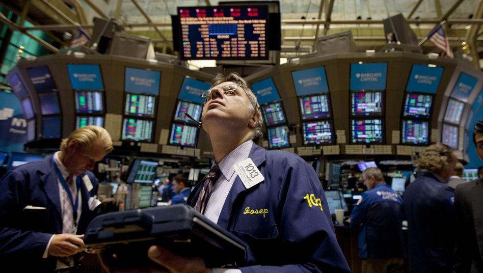 Händler an der Wall Street: Hoffnungen auf die US-Konjunktur haben zuletzt auch den Dax angetrieben