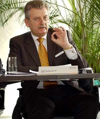 Lediglich Fragen gestellt: WGZ-Chef Böhnke gilt als kritisch und machtbewusst