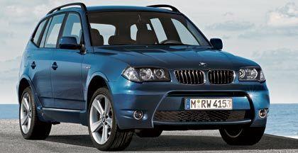 BMW X3 mit Aerodynamik Paket