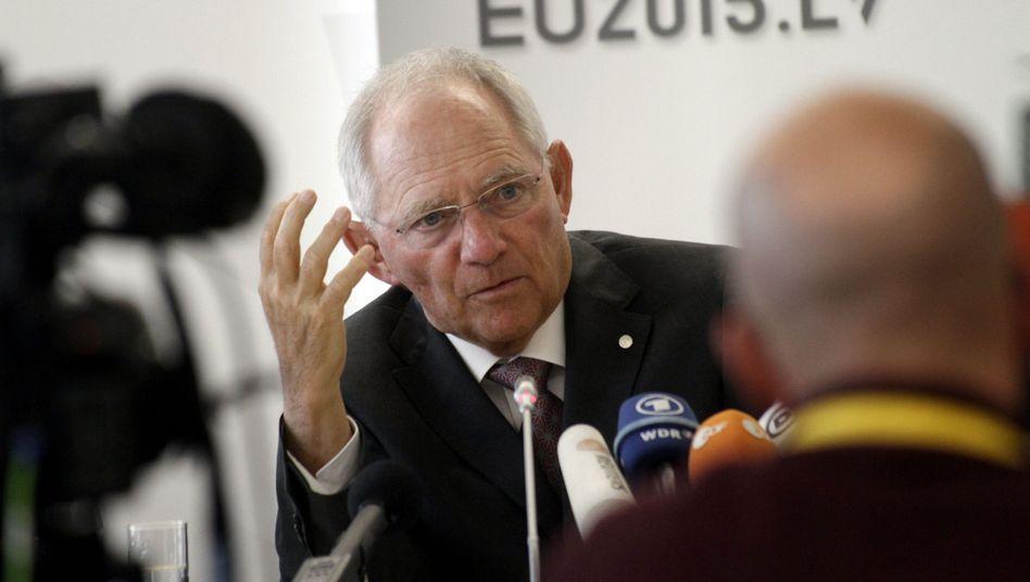 EU-Finanzminister in Riga: Bundesfinanzminister sprach sich dafür aus, rasch für mehr Transparenz zu sorgen
