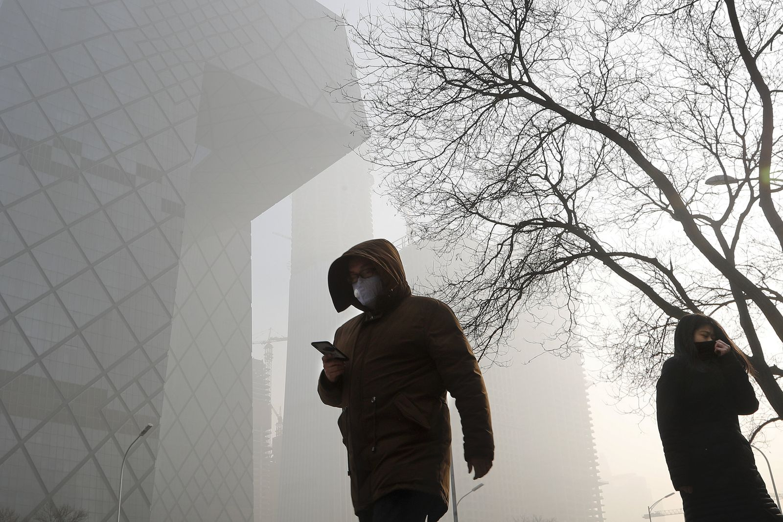 China / Peking / Smog