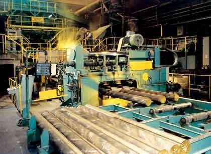 Lowtech: Diehl-Gießerei bei Nürnberg