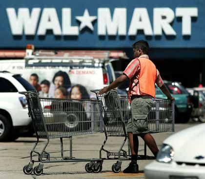 Sieht sich mit Sammelklage in den USA konfrontiert: Die weltgrößte Einzelhandelskette Wal-Mart