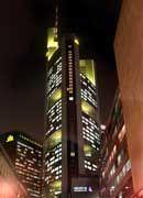 Unicredito schon lange Kandidat: Commerzbank-Zentrale in Frankfurt am Main