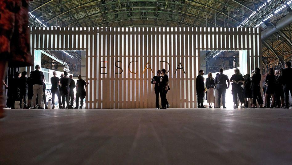 Bild aus besseren Zeiten: Escada-Show 2018 in New York