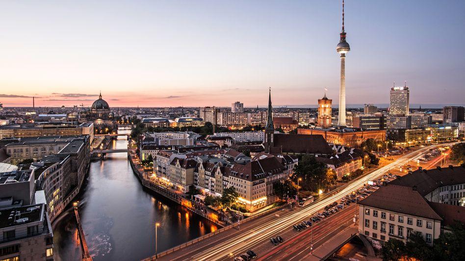 Guter Ort für Sendungen: Berlin mit Fernsehturm.
