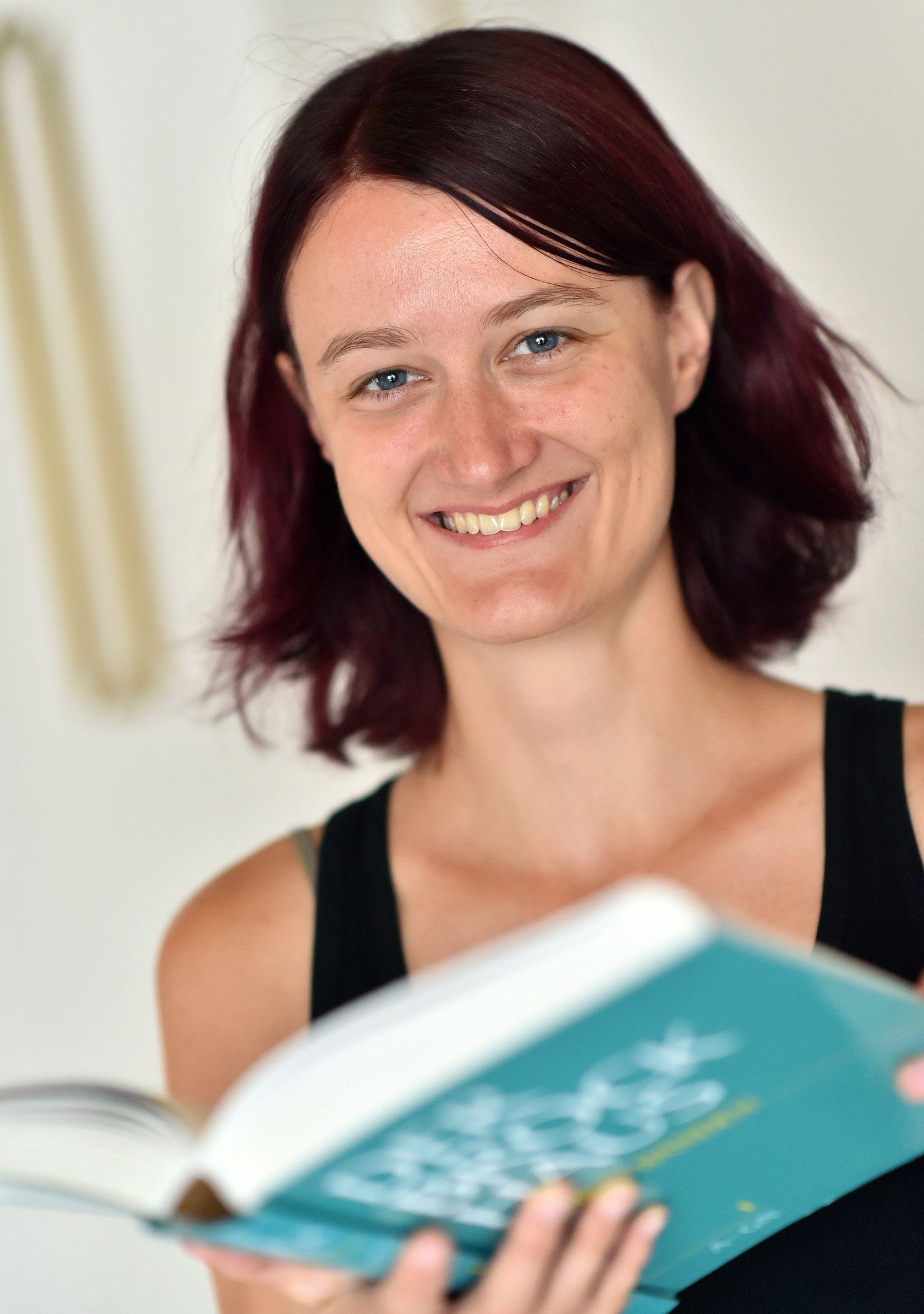 Christiane Heinicke bereit für die Mars-Mission