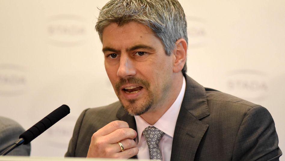 Hat es auch nicht leicht: Stadas Vorstandschef Matthias Wiedenfels.