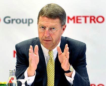 Als Zeuge gefragt: Lange wurde Eckhard Cordes als möglicher Schrempp-Nachfolger gehandelt. Inzwischen ist er Chef beim Handelskonzern Metro