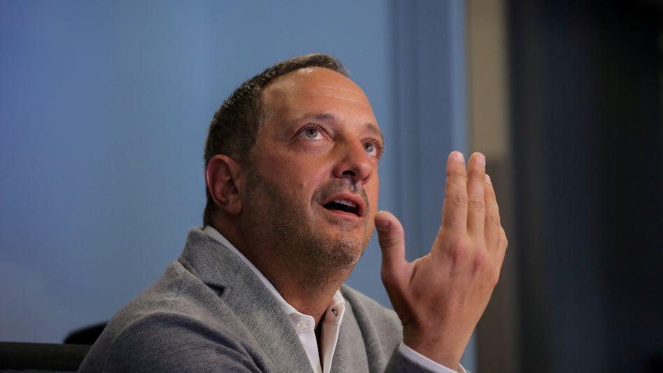Opfer: Der Chef des Hedgefonds Citron, Andrew Left, geriet durch die Angriffe in Not.