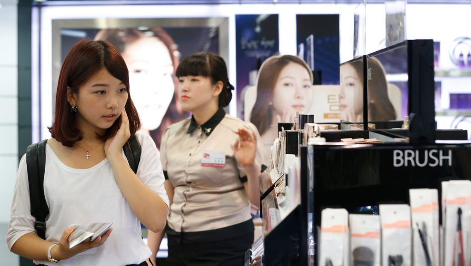 K-Beauty: Kundinnen in Korea.