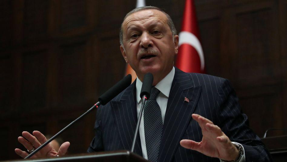 Lieber ohne externe Beratung: Der türkische Präsident Recep Tayyip Erdogan