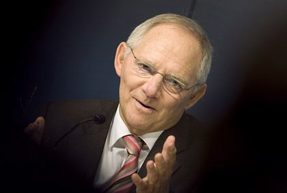 Harte Aufgabe: Wolfgang Schäuble hat Aussicht auf den Posten als Finanzminister