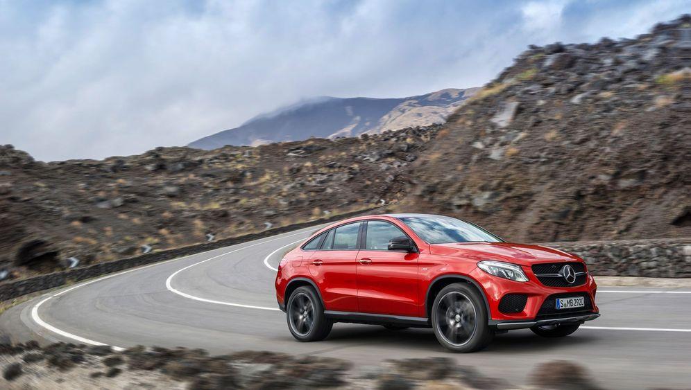 Autotest: Unterwegs mit dem Mercedes GLE Coupé