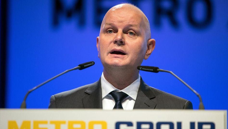 Metro-Chef Olaf Koch bestätigt Verkaufsgespräche mit US-Lebensmittelhändler Sysco