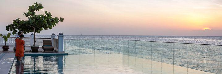 Freie Sicht zum Horizont: Der Infinity Pool