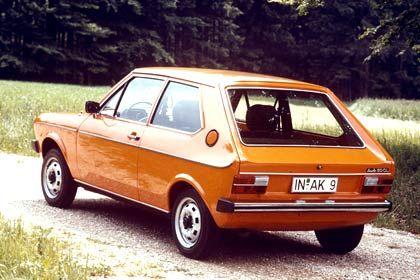 Kleinwagentradition: Der Audi 50 war 1974 so erfolgreich, dass ihn die Konzernherren von VW als Polo vereinnahmten