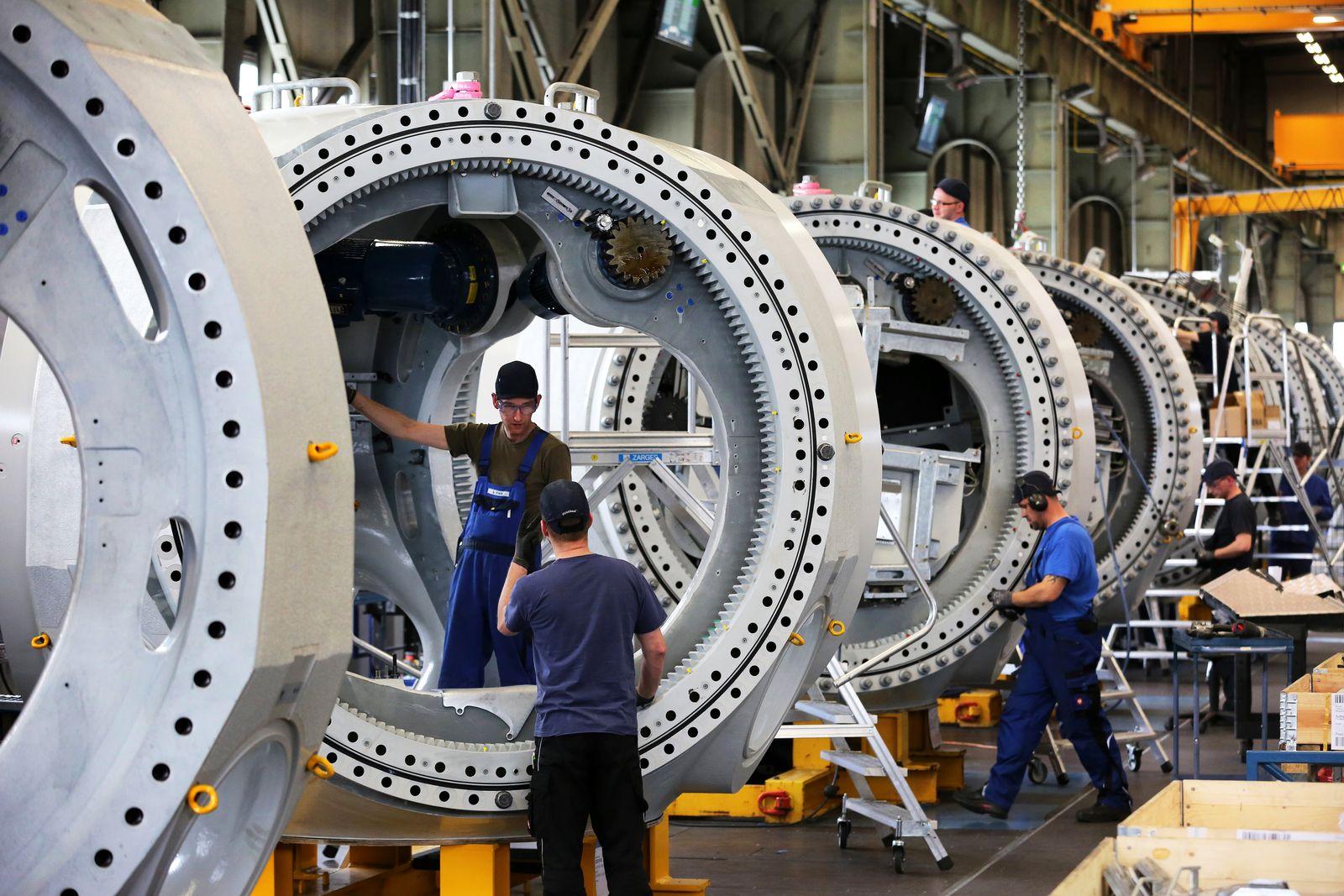 Deutschland / Konjunktur / Wirtschaft / Industrie / Maschinenbau