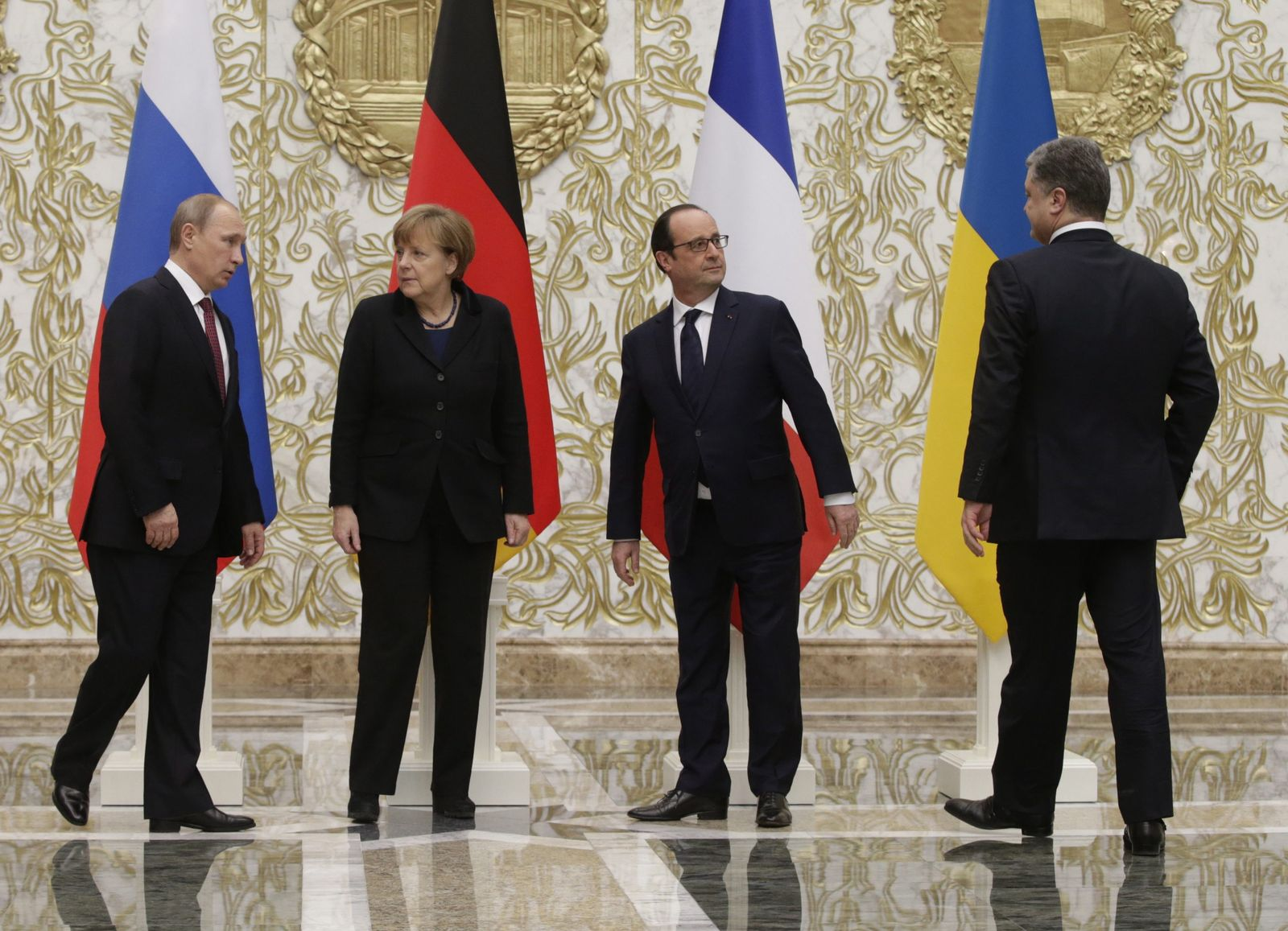 Ukraine peace negotiations in Minsk