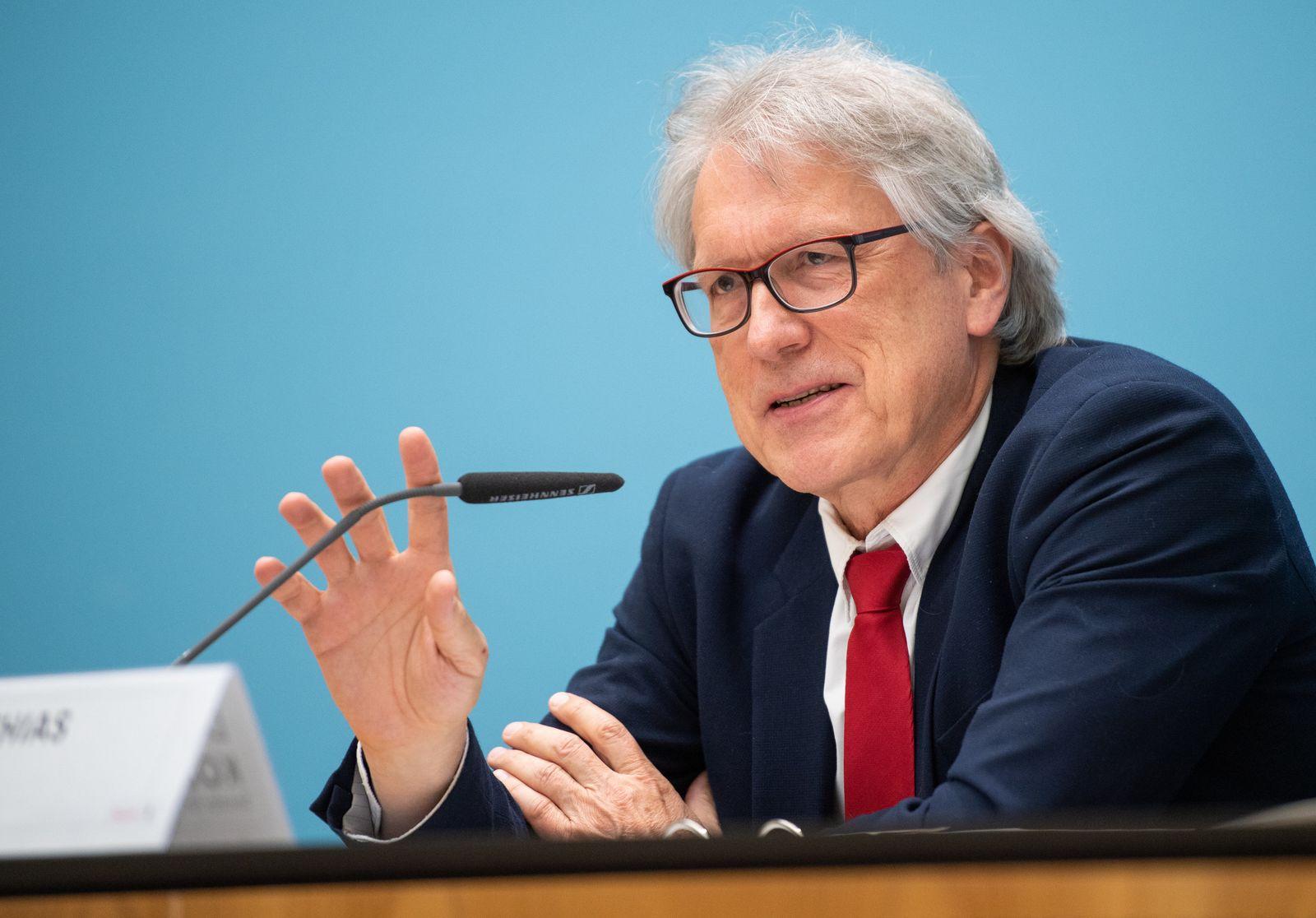 Pressekonferenz nach der Sitzung des Berliner Senats