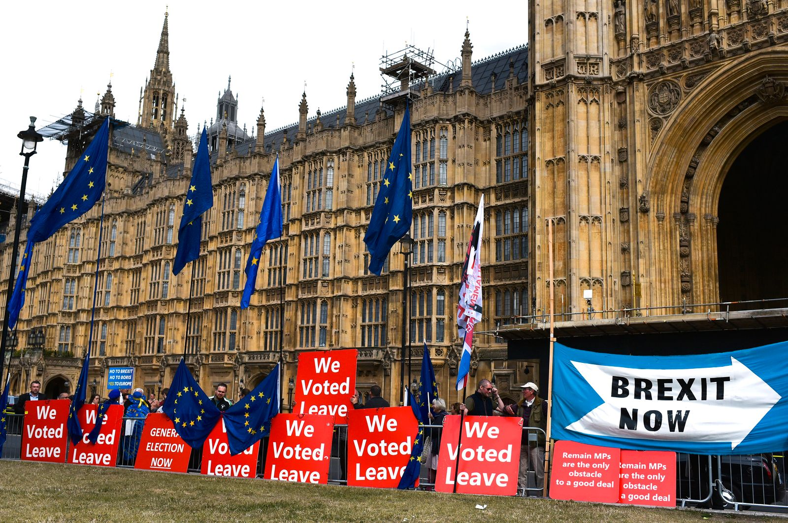 Brexit / London / Parlament