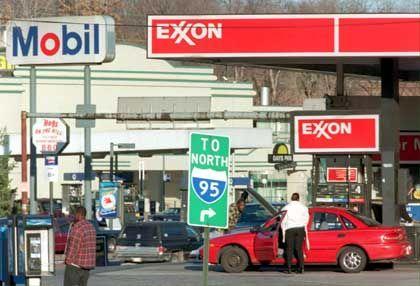 Nicht in den USA sondern im Ausland erwirtschaftet Exxon Mobil das Gros seiner Gewinne