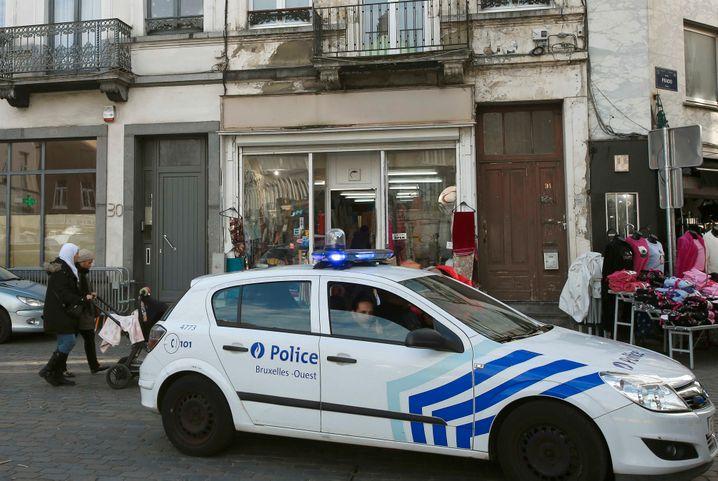 Polizei im Brüsseler Stadtteil Molenbeek: Mehrere Razzien, eine Festnahme
