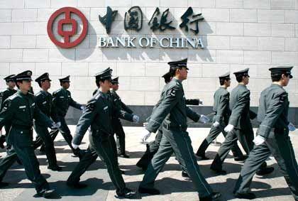Im Gleichschritt: China marschiert mit stetem Wachstum voran