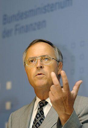 Hofft auf mildernde Umstände: Finanzminister Hans Eichel
