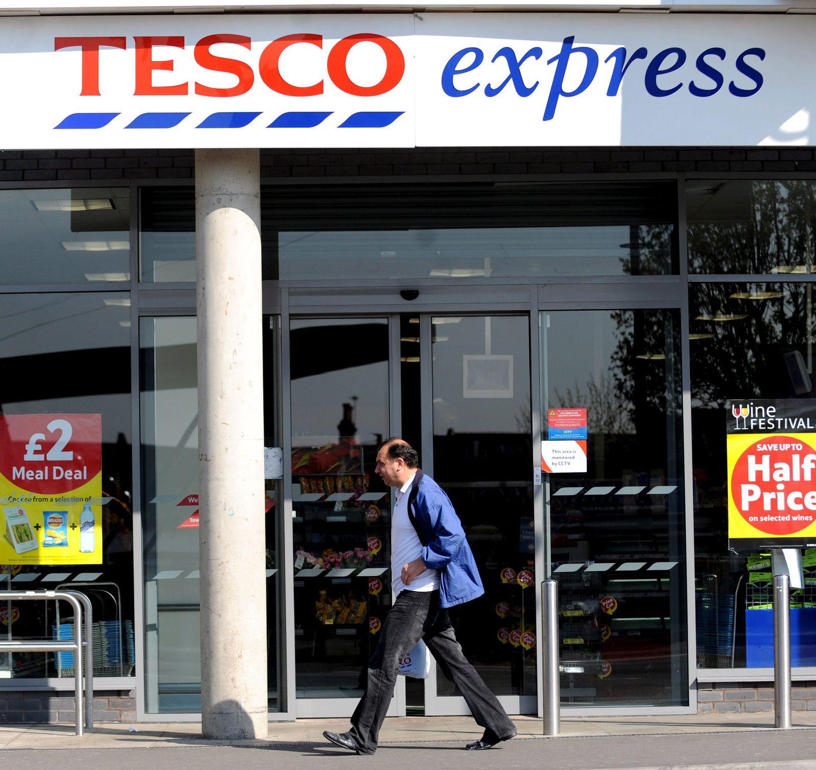 Supermarktkette Tesco mit Rekordgewinn
