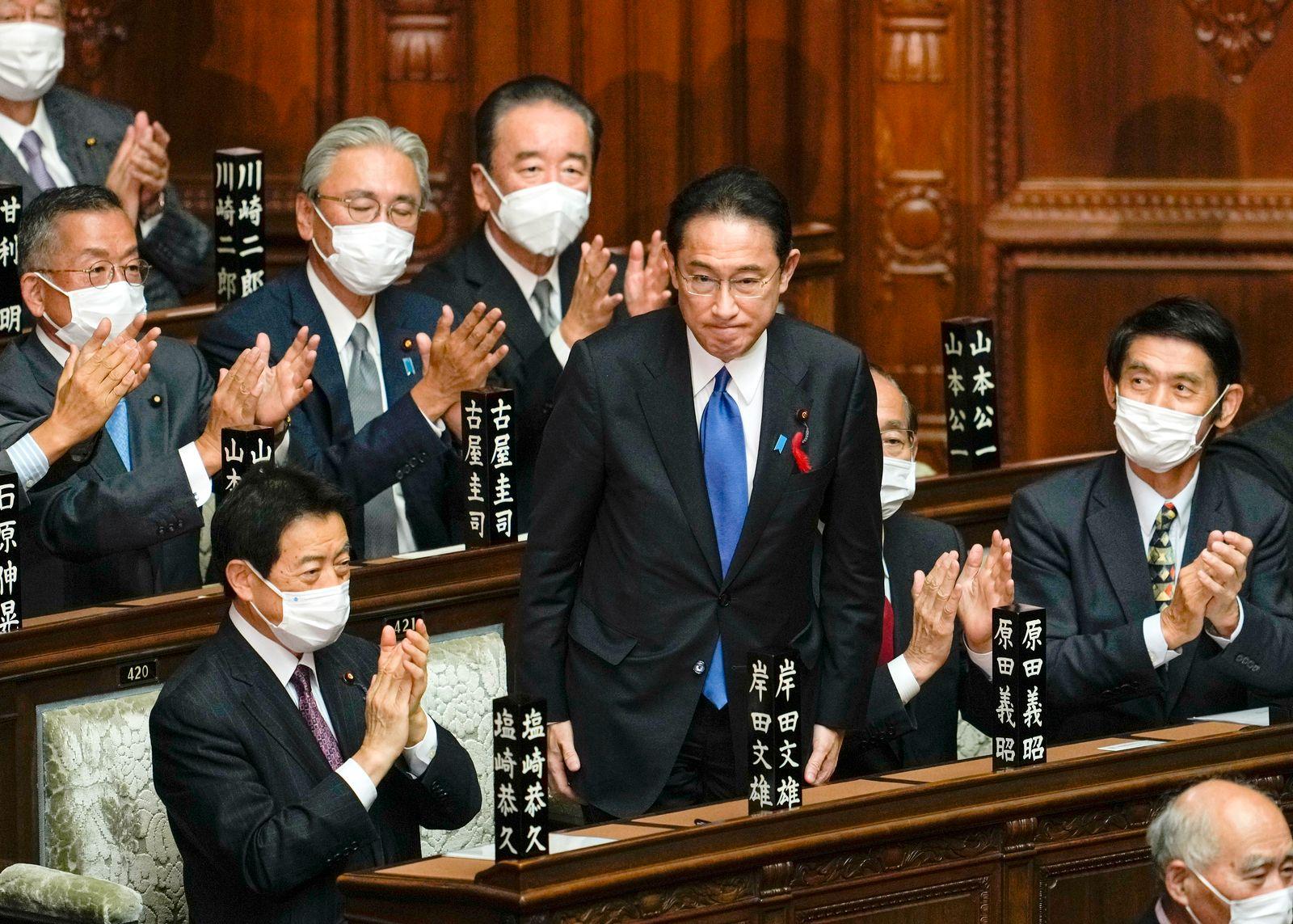Fumio Kishida becomes new Japanese Prime Minister