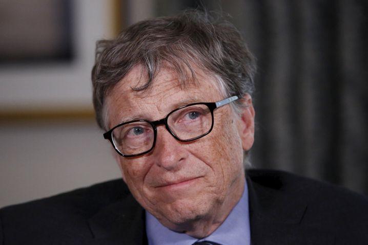 Viel Geld gegen Corona: Milliardär und Großstifter Bill Gates
