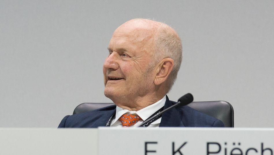 Der verstorbene VW-Patriarch Ferdinand Piëch (Archivaufnahme, 2017)