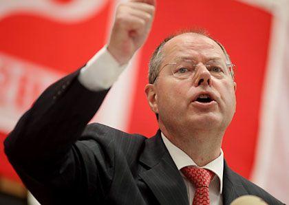 Bad Bank: Bundesfinanzminister Steinbrück