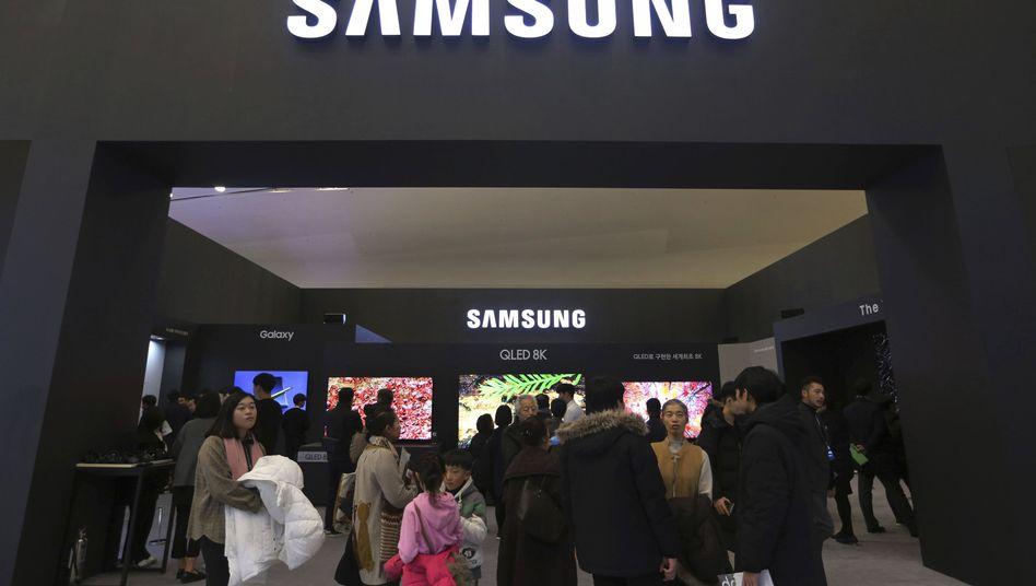 Samsung Electronics will 103 Milliarden Euro in seine Chip-Technologie investieren