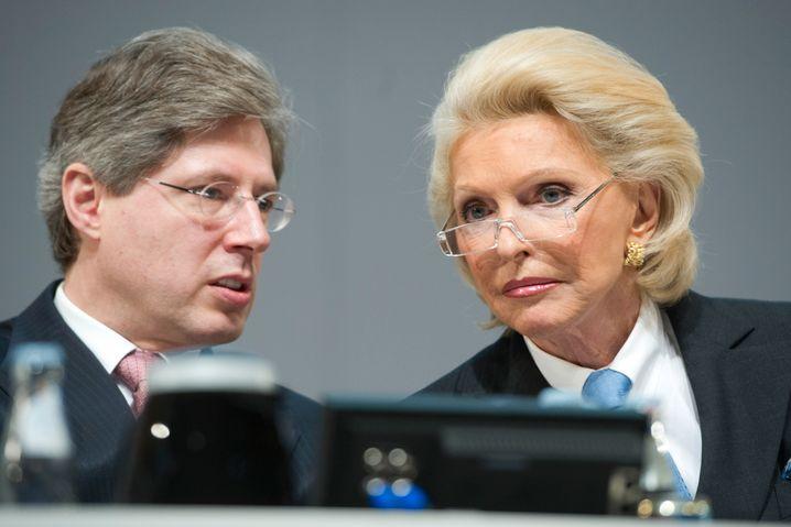 Platz 3: Georg und Maria-Elisabeth Schaeffler; INA-Holding Schaeffler, Herzogenaurach; Continental, Hannover; Maschinenbau, Autozulieferer; 22 Mrd. Euro (+ 0,5 Mrd.)