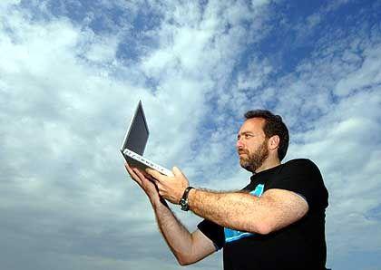 Ideen für eine kostenlose Kultur: Jimmi Wales, Gründer der Enzyklopädie Wikipedia