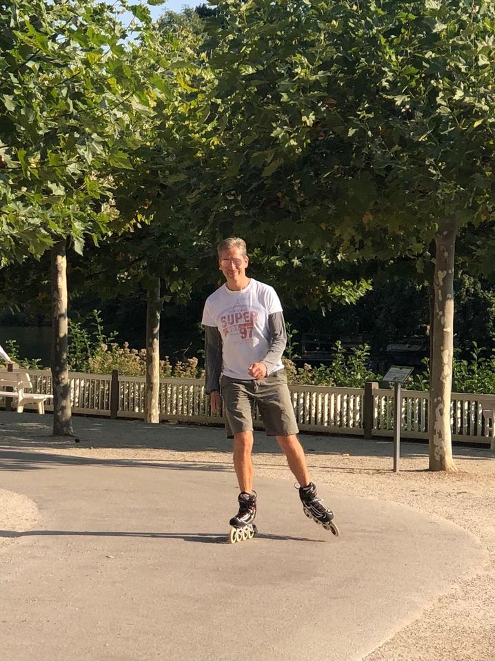 Frank Strauß: Vom Eishockey-Profi zum Skater