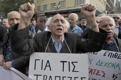 Proteste in Athen: Im Fall einer Staatspleite drohen vor allem für große deutsche Unternehmen Konsequenzen