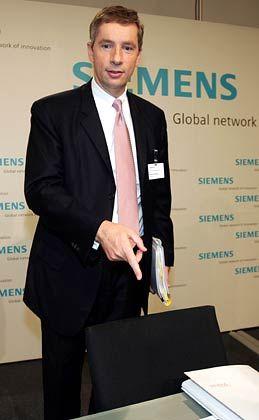 Sucht Wachstumsunternehmen: Siemens-Chef Kleinfeld