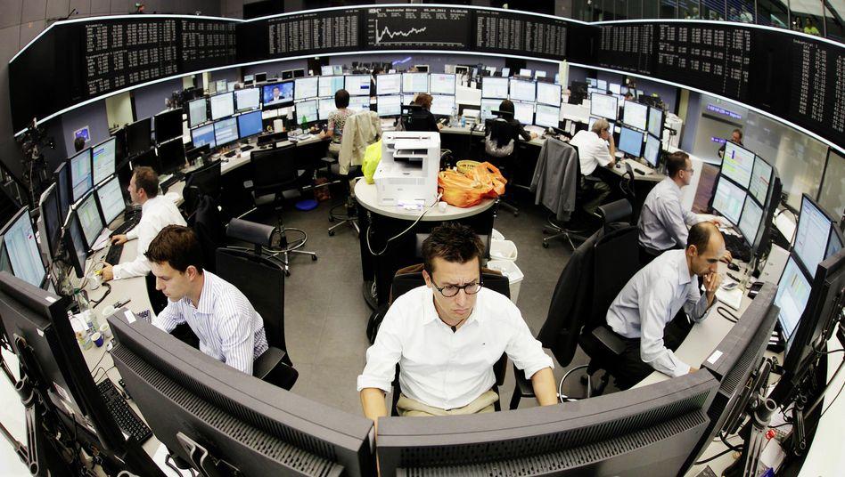 Börse in Frankfurt: Dax ist auf Erholungskurs